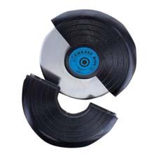 Vinal Record Pizza wheel Cheesy Hits