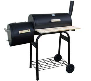 BBQ Smoker Cart